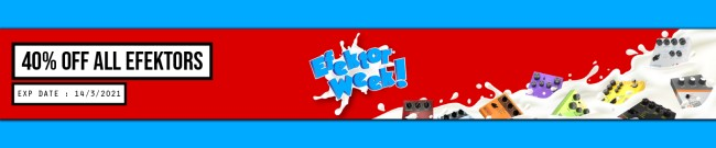 Banner Kuassa - Efektor Sale - 40% Off
