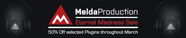 Banner MeldaProduction - Eternal Madness Sale