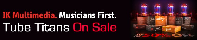 Banner IKM - Tube Titans Sale - Up 50% Off