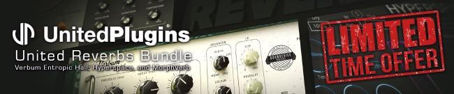 Banner UnitedPlugins - Reverb Bundle - Special Offer