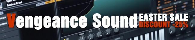 Banner Vengeance Sound - Easter Sale: 25% Off