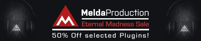 Banner MeldaProduction - Eternal Madness Sale