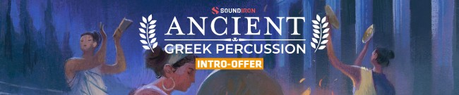Banner Soundiron - Ancient Greek Percussion - Intro Offer