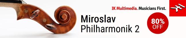 Banner IKM - Up to 80% off Miroslav Philharmonik 2