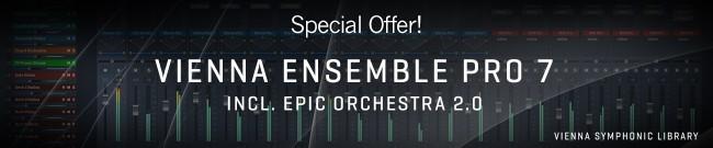 Banner VSL - Vienna Ensemble Pro 7 Special Offer