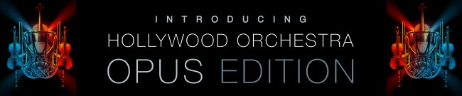 Banner EastWest - Hollywood Orchestra Opus Edition