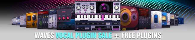 Banner Waves Vocal Plugin Sale