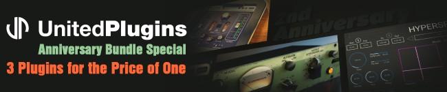 Banner UnitedPlugins - 2nd Anniversary Bundle Special