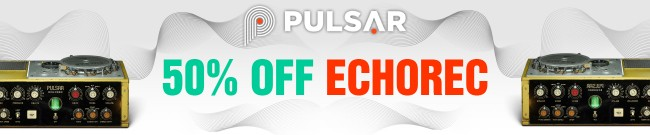 Banner Pulsar Echorec 50% OFF