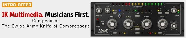 Banner IKM - T-RackS Comprexxor - Intro Offer