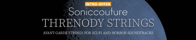 Banner Soniccouture - Threnody Strings - Intro Offer