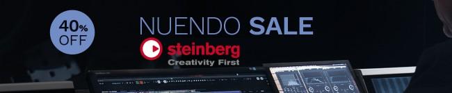 Banner Steinberg - Save 40% on Nuendo 11