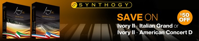 Banner Synthogy Summer Savings