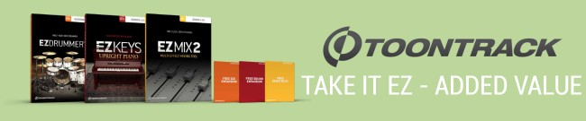 Banner Toontrack - Take It EZ - Deal One
