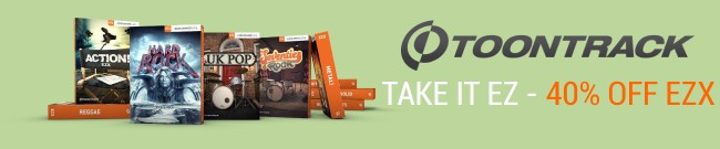 Banner Toontrack - Take It EZ - Deal Two