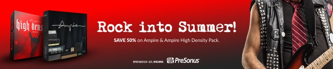 Banner Presonus Ampire High Density Pack Deal