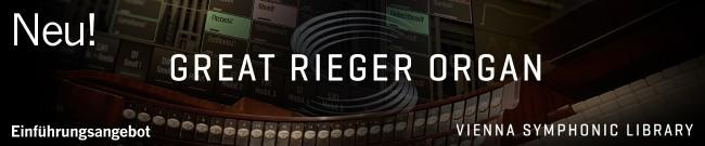 Banner VSL: Great Rieger Organ - Intro Offer
