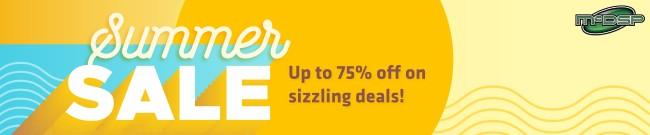 Banner McDSP - Summer Super Sale: Up to 75% OFF