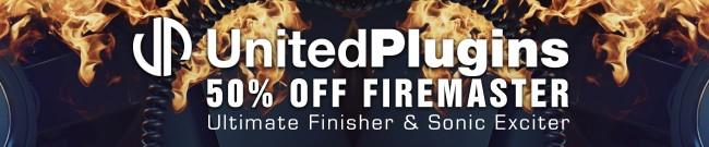 Banner UnitedPlugins - 50% Off FireMaster