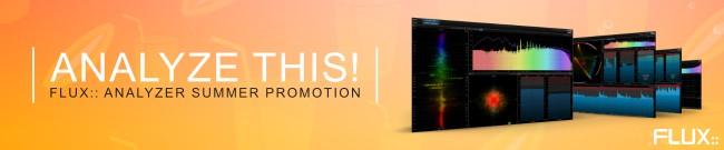 Banner Flux: Analyzer Summer Promotion