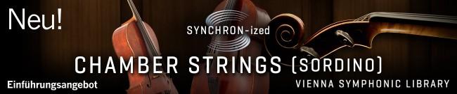 Banner New: SYNCHRON-ized CHAMBER STRINGS (sordino)