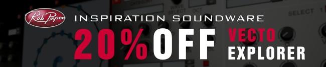 Banner Rob Papen Sale - 20% OFF Vecto & eXplorer Crossgrade