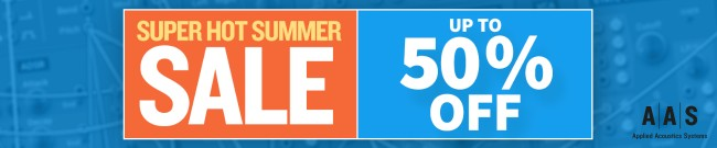 Banner AAS Summer Sale - Up to 50% Off