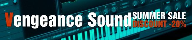 Banner Vengeance Sound - Summer Sale: 20% Off