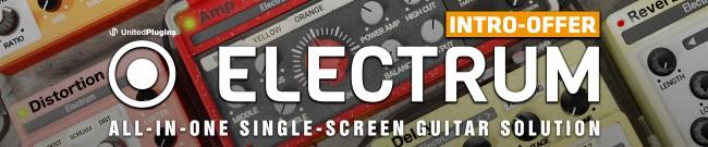Banner UnitedPlugins - Electrum Intro Offer
