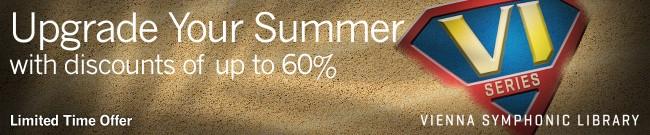 Banner VSL - Upgrade Your Summer - Up to 60% Off