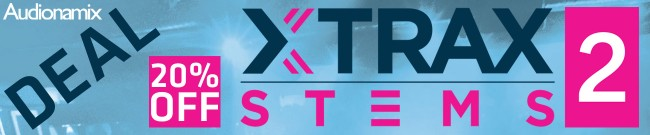Banner Audionamix - XTRAX STEMS 2 - 20% OFF