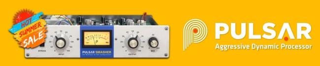 Banner Pulsar Audio Summer Sale -  82% OFF Smasher