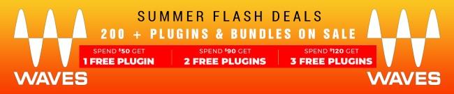 Banner Waves Summer Flash Deals