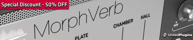 Banner UnitedPlugins - MorphVerb - Sale