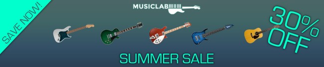 Banner MusicLab - Summer Sale: 30% OFF