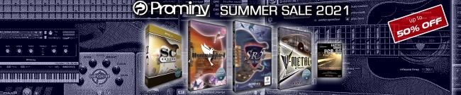 Banner Prominy Summer Sale - Up to 50% Off