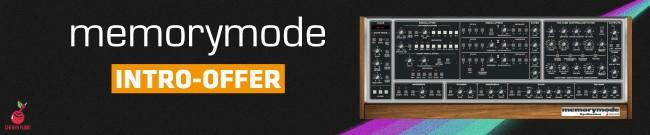Banner Cherry Audio - Memorymode - Intro Offer