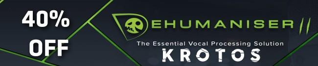 Banner Krotos Audio - Dehumaniser 2 Sale
