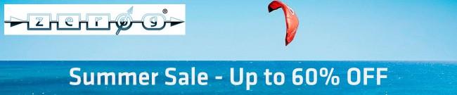 Banner Zero G Summer Sale - Up to 60% OFF