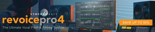 Banner SynchroArts Revoice Sale - Up to 50% OFF