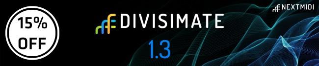 Banner Nextmidi - 15% Off Divisimate