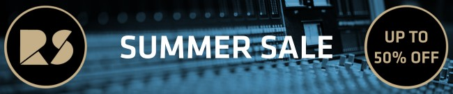 Banner Rast Sound Summer Sale - Up To 50% Off