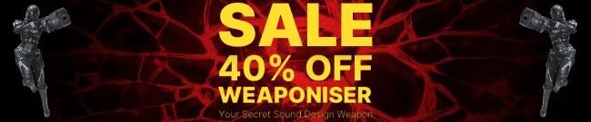 Banner Krotos - 40% Off Weaponiser