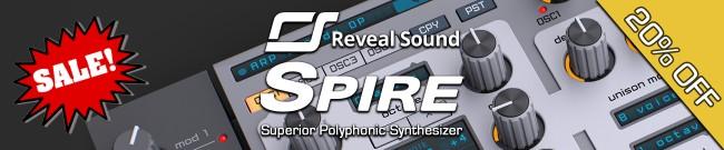 Banner Reveal Sound - 20% Off Spire
