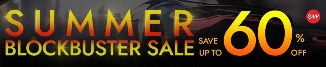 Banner EastWest Summer Blockbuster Sale - 60% Off