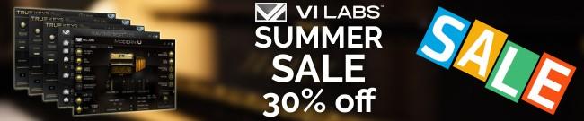 Banner VI Labs Summer Sale - 30% OFF