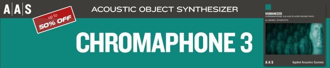 Banner AAS Chromaphone 3 + Packs - 50% OFF