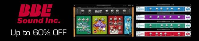 Banner BBE Sonic Sweet & Stomp Board Update Sale