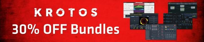 Banner Krotos - Bundles Sale - 30% OFF