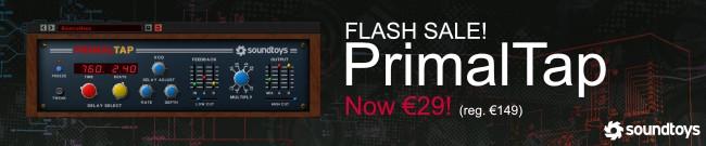 Banner Soundtoys Primal Tap 80% OFF - Flash Sale